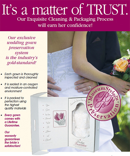 Wedding Dress Preservation Prestige